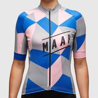 الجملة-أفضل جودة 2015 أحدث maap امرأة بيغيني الدراجات قصيرة الأكمام الدراجات جيرسي بسيطة عارضة الدراجات ملابس النساء جيرسي