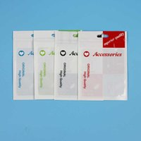 Plastic Accessories Retail Packaging Bags Hand Handling Hole...