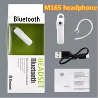 M165 Universal Wireless Stereo Bluetooth Headset Earphone Mi...