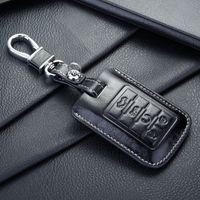 Porte-clés en cuir FOB pour Auto Cadillac porte-clés shell porte-clés porte-clés porte-monnaie sacs porte-clés accessoires pour voitures Cadillac