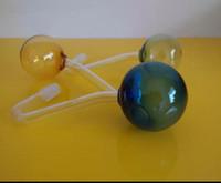 Vaso a colori di grandi dimensioni, consegna casuale a colori, accessori per narghilé in vetro all'ingrosso, accessori per bong in vetro, spedizione gratuita, bette grande