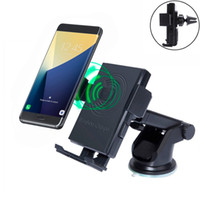 Wireless Car Charger 360 Degree Rotating Phone Holder Mount ...