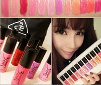 Un juego 12 colores 3CE 3 CONCEPT EYES Lip Gloss Liquid Rouge