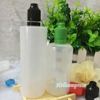 PE 120 ML Damlalık kurcalağı Şişe ile çocukların açamayacağı kurcalamaya dayanıklı kap plastik iğne ipuçları e çiğ şişe Stokta Kullanılan Çoğu Sıvıları