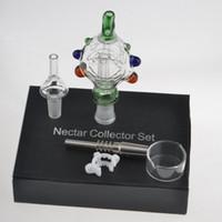 2016 новые CENC подвесные наборы с титановым ногтями кварцевые ногтей носимые стеклянные бонги охлажденные водяным и различным высоким качеством