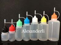 E- liquid Empty Bottle 3ml 5ml 10ml 15ml 20ml 30ml 50ml Needl...