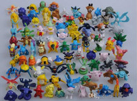 2015 jouets chauds anime Pocket Monster Toys Figurines Pikachu articles d'ameublement poupée 2-3cm