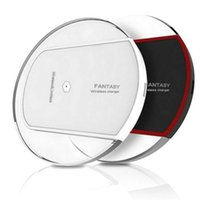K9 S6 Qi Wireless Charger Charging For Samsung S6 Edge s7 s8...