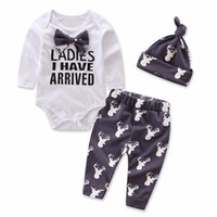 Baby Boy Clothes Christmas Prints Newborn Baby Set 3 pieces ...
