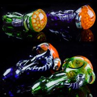 "Heady Pipes 3. 5"" inch Spoon Glass Pipes for Smoking Col..."