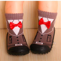 0- 2 years old First Walkers Cotton and Rubber Soft Bottom wa...
