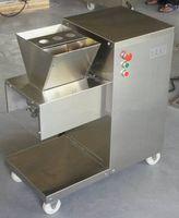 Vente en gros - Livraison gratuite 110 / 220V QW Machine de coupe de viande, trancheuse à viande, coupe-viande, machine de traitement de la viande de 800 kg / hr