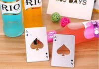 50PCS Poker Playing Card Bottle Opener Stainless Steel Beer ...