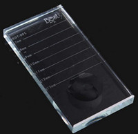 أداة تمديد رمش U- الشكل كريستال زجاج لاصق الغراء البليت كريستال ستون
