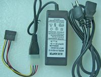 Fuente de alimentación externa de disco duro Adaptador Molex de 4 pines DC 4 V de 5V 12V + cable de conector de alimentación SATA