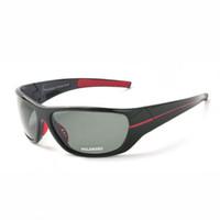 Gafas de sol deportivas polarizadas para hombres con marco TAC Grey Lens para hombre Conducción / Pesca / Golf / Baseball Gafas de sol Eyewear