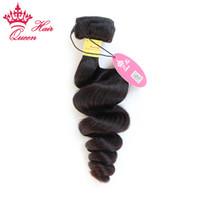 ملكة منتجات الشعر بيرو العذراء فضفاض موجة الشعر ملحقات الشعر غير المجهزة الشعر 1PC 12 إلى 28 المتاحة