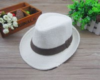 summer Baby linen hats kids children' s Caps accessories...