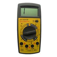 DIY Reparación DT9205B venta al por mayor AC / DC Amperímetro Voltímetro Ohm Capacitancia Probador Eléctrico Portátil Profesional Multímetro Digital