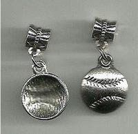 Ожерелье серебро для 100 бейсбольных подвесок DIY N995 старинные браслеты подвески Hot Bears бренд ювелирных изделий изготовления / шт. Софтбол CLQVI
