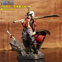 Dracule Mihawk Action Figure One Piece Mihawk Doll Dracule M...