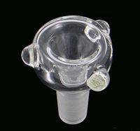 최신 디자인 유리 버블 러 및 애쉬 포수 용 유리 그릇 14 mm 또는 18 mm 유리 봉 수관 흡연 그릇