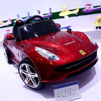 Ferrari Children' s electric car four- wheeled child toy ...