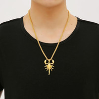 New Arrivals Hip Hop Individuality Scorpion Statement Pendan...