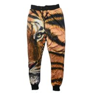 Raisevern new 2015 sport joggers pants 3D sweat pants tiger ...