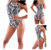 Hot Sale ! New 2015 Summer Sexy Women Zebra Bikini Halter Pi...