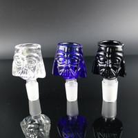 Venda quente Heavy Glass Bowls fit com VIDRO BONGS 14mm 18mm em Cor grosso e profundo tabagismo para plataformas de petróleo bongo de vidro