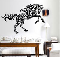 Horse Wall Sticker Decor - Animal Wall Decal Removable Decor...