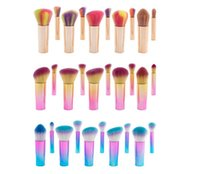 Hot Sale Colorful Makeup Brush With 10pcs Makeup brushes Box...