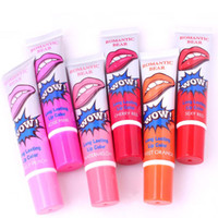 Lip Gloss Rossetto Peel-off dura per 24h senza macchia marino collagene rossetto balsamo pianta labbra lucido gloss romantico bear trucco maschera labbra idratante