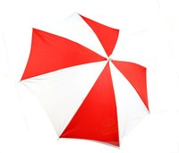 Free shipping Red&White Parasol Magic, Umbrella Production M...