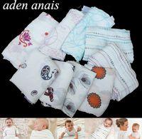 Vente chaude Aden Anais Literie Couettes Pour Bébés Fournitures Nouveau-Né 100% Coton Mousseline Bébé Réception Couvertures Cobertor Infantil Doux Wrap Bébé