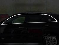 För Kia Sorento 2009 2010 2011 2012 2013 2014 Chrome täcker krom styling bil fulla fönster trim dekoration auto tillbehör