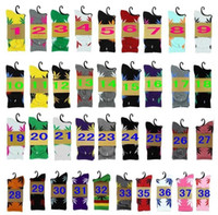 38 colors Hot High Crew Socks Skateboard hiphop socks Leaf M...