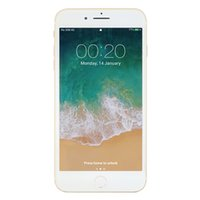 Новый Goophone i8 Plus 2G GSM Unlocked Metal Frame Back Glass Quad Core MTK6580 512MB 4GB + 32GB Android 7.0 5.5-дюймовый IPS 960 * 540 GPS-смартфон