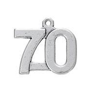 Envío gratis Nueva moda Fácil de diy Números de la vendimia de 1 a 100 encantos nueva joyería que viene en forma para el collar o pulsera