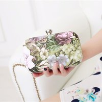 Romantic 2015 New Fashion Printed Flower Leaf Hand Bags For ...