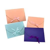 28 * 21 * 2 см Большой шарф Подарочная коробка Полотенце упаковочной коробки Конверт Подарочная бумажная коробка Открытка ленты лук Упаковка Коробки