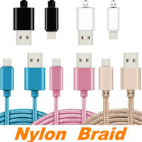 Cell Phone Cables For Samsung S6 S7 S8 for I5 I6 I7 I7P 1M 2...