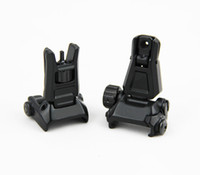 Tactical GEN3 Metal Front Rear Backup Folding Sight For PTS ...