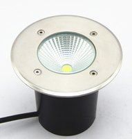 Free Shipping 10pcs lot IP68 Super LED COB underground light...