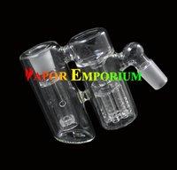 Double chambre pré-refroidisseur avec 7 bras arbres Showerhead Perc pour verre tubes de fumer de l'eau bong livraison gratuite