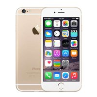 Оригинальный Apple iPhone 6 16GB 64GB 128GB Touch ID 4G LTE iOS 11 4.7 дюймовый экран Retina Dual Core A8 GPS 8.0MP камера Восстановленный смартфон