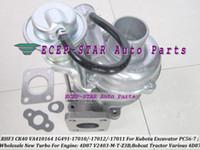 RHF3 CK40 VA410164 1G491-17011 1G491-17012 Turbocompressore 1G491-17010 Turbo Per Kubota Escavatore PC56-7 Per motocoltivatore 4D87 V2403-M-T-Z3B