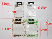 USB Patterns Clear Pearl Plastic Poly Bags OPP Packing Zippe...