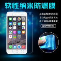 Explosion- proof Soft membrane Smart for iphone 6 6plus free ...